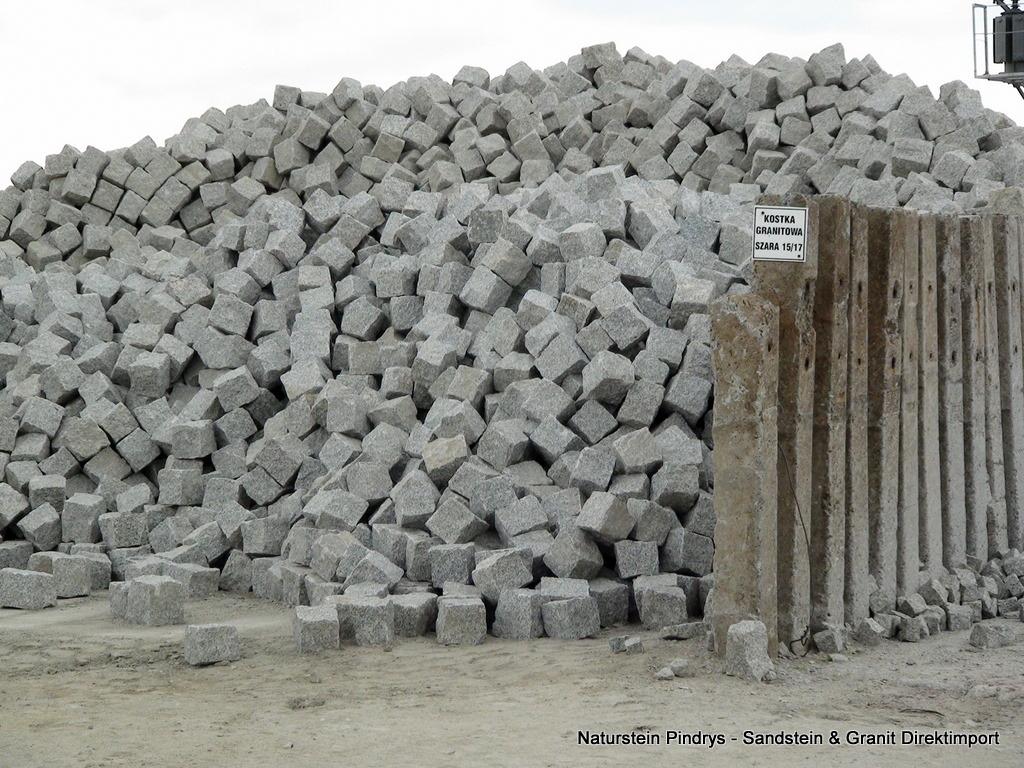 8 11 grau mittelkorn granit pflastersteine natursteine direkt vom. Black Bedroom Furniture Sets. Home Design Ideas